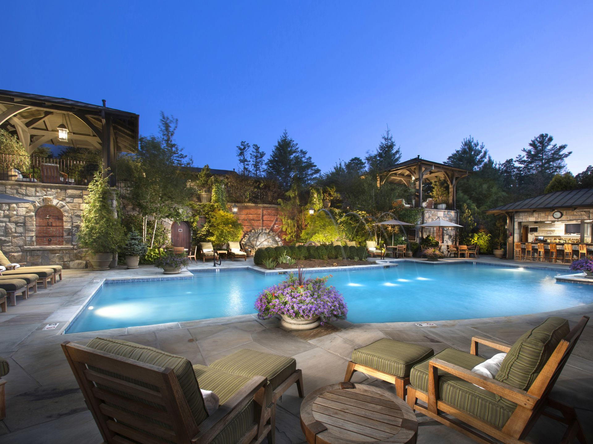 Luxury Country Inn In Highlands Nc Half Mile Farm