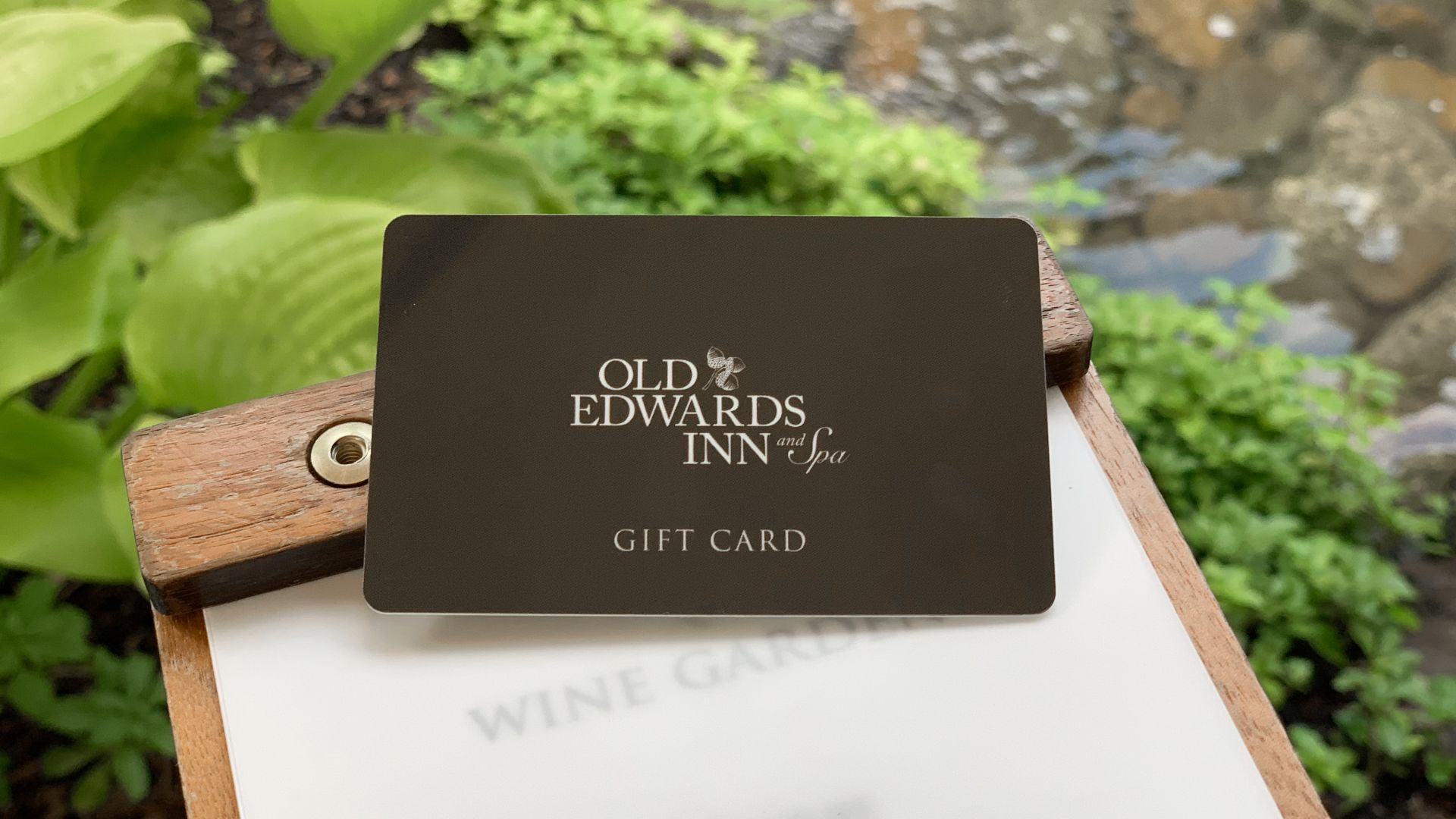 Old Edwards Gift Card in Wine Garden